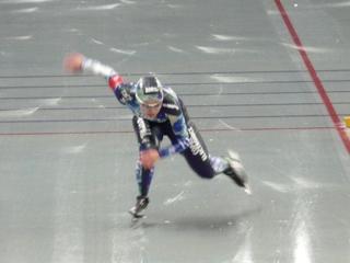 大会新記録を出した吉井選手