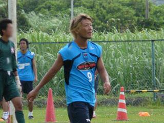 最後の横浜FC姿の大黒選手