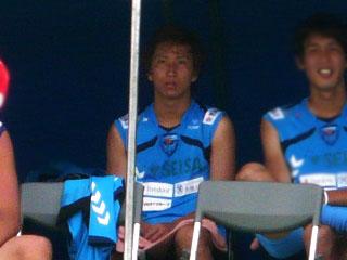 こんな画像しかなくて申し訳ない武岡選手